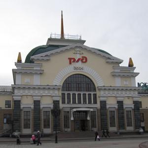 Железнодорожные вокзалы Пильны